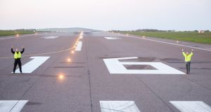 Cork Airport: Runway 17/35 is now Runway 16/34, in line with shifts in Earth's magnetic poles