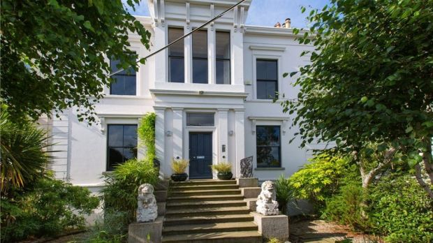 Clifton Terrace, Monkstown What: Five-bed double-fronted regency home with sea views Price in 2005: €5 million Asking price now: €2.4 million