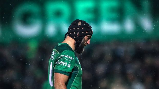 In the last four seasons, John Muldoon played 107 out of Connacht's 117 matches. Of those, he started 96, completing 80 minutes a total of 73 times. Photograph: James Crombie/Inpho