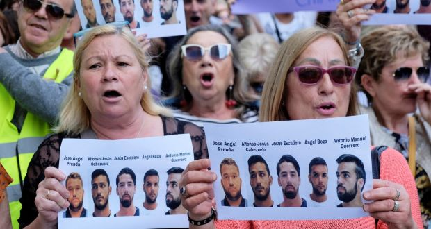 Spanish prosecutor to appeal ruling in 'Wolf Pack' rape case