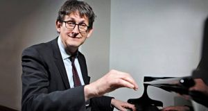 Alan Rusbridger: in Galway on Sunday for an encounter with the Irish pianist Finghin Collins