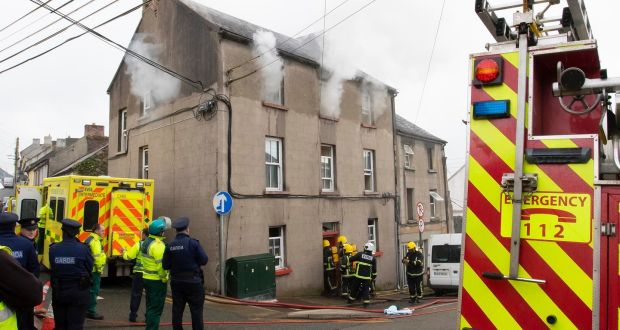 Five people taken to hospital after new ross house fire emergency services on the scene of a fire in mary street new ross co fandeluxe