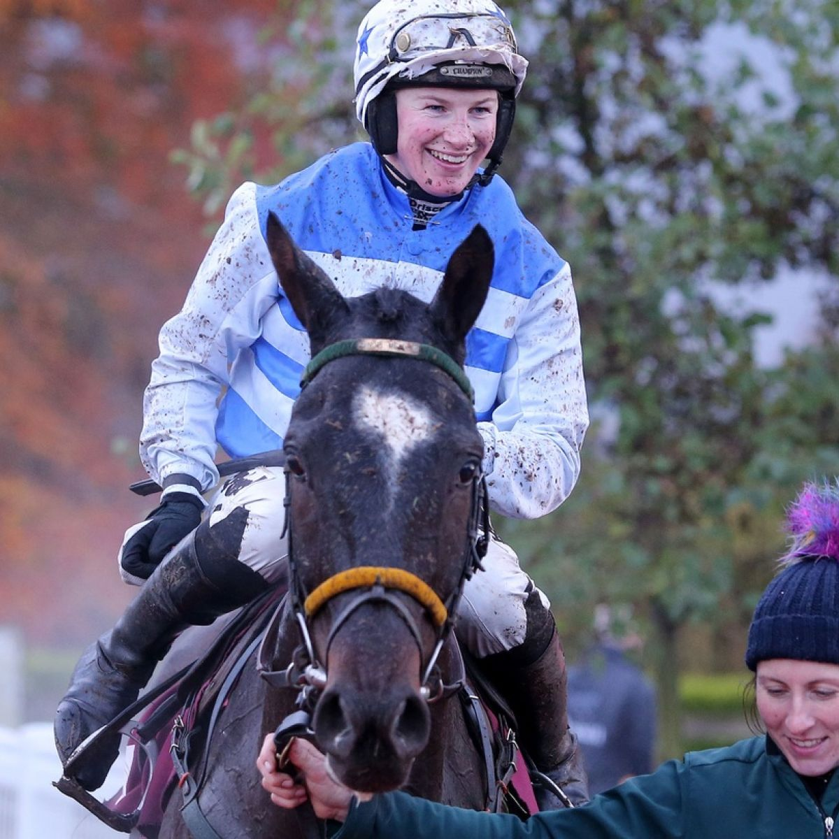 Nina Carberry follows Katie Walsh into retirement after win