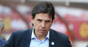Chris Coleman has been sacked as Sunderland manager. Photograph: Nigel Roddis/Getty