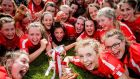 Cork secured the All-Ireland minor A camogie title  by virtue of an all-round team performance, with eight different contributors to their 18-point tally.