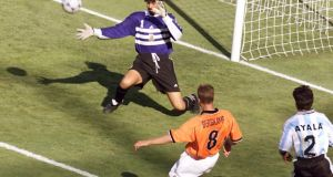World Cup moments: Dennis Bergkamp's perfect goal in 1998