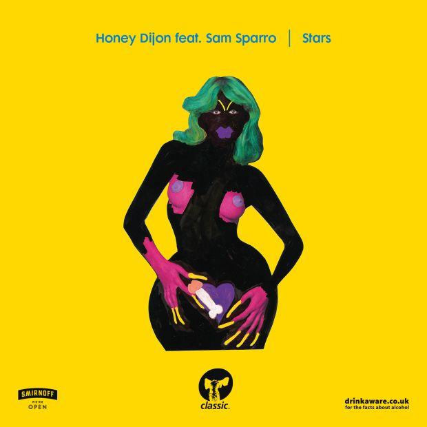 Honey Dijon's latest release is the four-track EP Stars (feat. Sam Sparro)