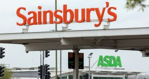 Walmart would receive almost £3 billion in cash and 42 per cent of the combined business in return for selling Asda to Sainsbury's. Photograph: Chris Ratcliffe/Bloomberg