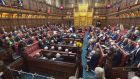 Peers voted by 335 votes to 244 in favour of an amendment to the EU Withdrawal Bill despite government warnings that the vote would put Britain at a disadvantage in negotiations with the EU. File photograph: PA Wire