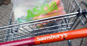 The Sainsbury's-Asda merger  would make the merged supermarket giant one of the biggest employers in Northern Ireland. Photograph:  Chris Ratcliffe/Bloomberg