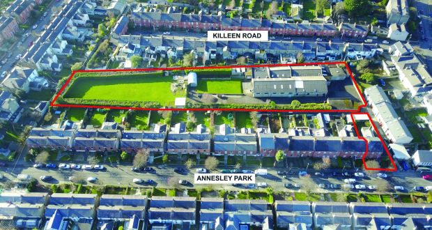 Dunville Close residential site, Ranelagh, Dublin: the site has been owned by the same family since 1944 and comes with Z1 residential zoning