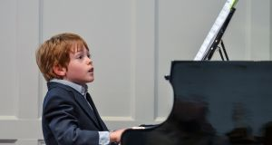 Take note: Adrian Thornton of Thornton Pianos reckons the critical things in maintaining a learner's interest are genuine interest, a good teacher, a reliable shop and a good quality piano. Photograph: Getty Images