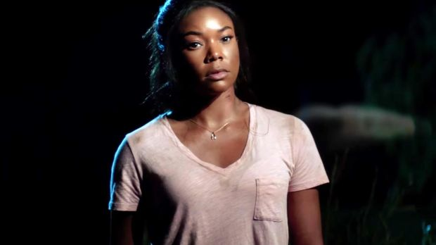 "Gabrielle Union in Breaking In. The actor and producer of the movie characterises the new film as ""a love letter to caregivers"". Photograph: Universal Pictures"
