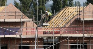 Construction companies  report a squeeze in the numbers of plasterers, carpenters, electricians, bricklayers and plumbers