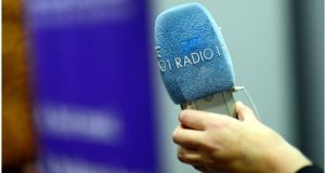 RTÉ's policy position is to increase the amount of Irish heard on radio, with more Irish language and bilingual programming on Radio 1, 2fm and Lyric Fm. Photograph: Bryan O'Brien/The Irish Times