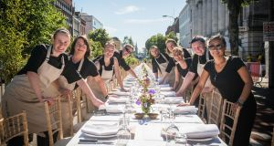 Staff from last year's participating restaurants. Photograph: Joleen Cronin