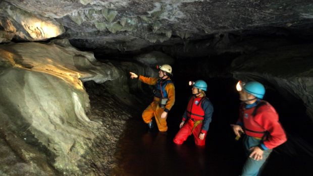 Go deep into the Fermanagh caves to explore a fascinating underworld of rivers, waterfalls and lofty chambers.