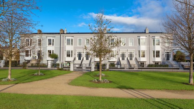5 Royal Terrace North in Dún Laoghaire (end right) sold for €2.05m