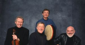 The Chieftains, who recorded with Claddagh records