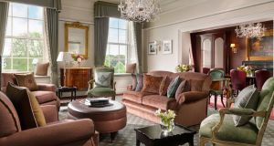 Abbey Upholsterers  recently worked on the refurbishment of the Shelbourne Hotel in Dublin.