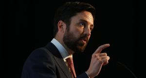 Minister for Housing Eoghan  Murphy told the National Construction Summit the chronic shortage in supply at the root of the current housing problem was being addressed. Photograph: Nick Bradshaw