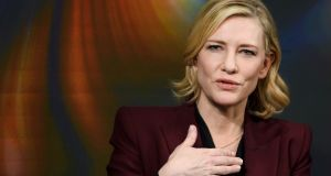 Cate Blanchett: 'I got a bad feeling from him.' Photograph: Fabrice Coffrini/AFP/Getty Images