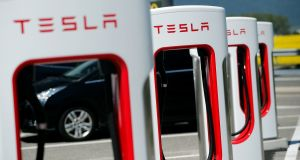 Many high-profile investors share a scepticism towards Tesla, one of the most shorted stocks on the US market. Photograph: Denis Balibouse/Reuters