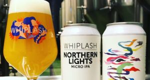 Whiplash's Northern Lights Micro IPA is remarkably tasty, with a big hit of lovely hop aroma and flavour, a solid bitterness – and it's not watery as you might suspect for such low alcohol content