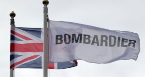 Bombardier's Belfast plant received a welcome boost with news that American Airlines has placed an order for a number of CRJ900 jets, large parts of which are designed and manufactured in Ireland. Photograph: Niall Carson /PA Wire