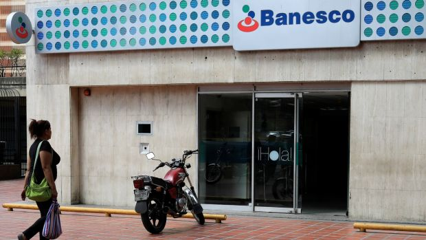 Banesco's president, Juan Carlos Escotet, has been the frequent target of criticism by ruling party heavyweight Diosdado Cabello, who recently announced that the government was buying Banesco, a claim Mr Escotet then denied. Photograph: Marco Bello/Reuters