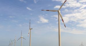 The jump in the value of the Neart na Gaoithe 450MW project, capable of powering all homes in a city the size of Edinburgh, comes as the cost of developing offshore wind farms has fallen in recent years. Photograph:  iStock