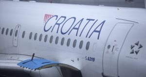 Croatia Airlines, first flight to Dublin