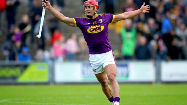 Wexford's Lee Chin will again be their key man but they'll need others to step up. Photograph: James Crombie/Inpho