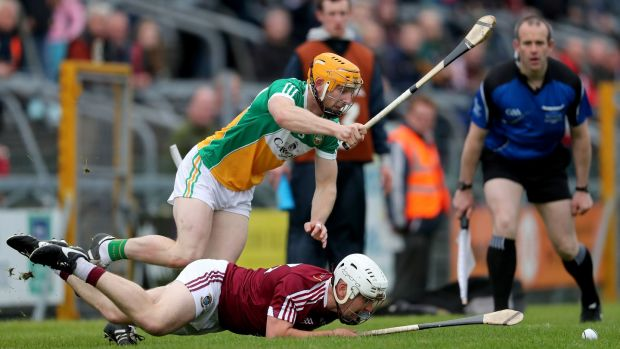 Offaly will hope to build on a positive league campaign this summer. Photograph: Inpho
