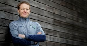 "Republic of Ireland manager Colin O'Brien: ""Everything has gone really well so far. We are ready to embrace the challenge of the first game."" Phptograph: Inpho"
