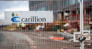 Carillion went to the wall owing £7bn to creditors, making it one of the biggest failures in the history of British construction. Photograph: Getty Images