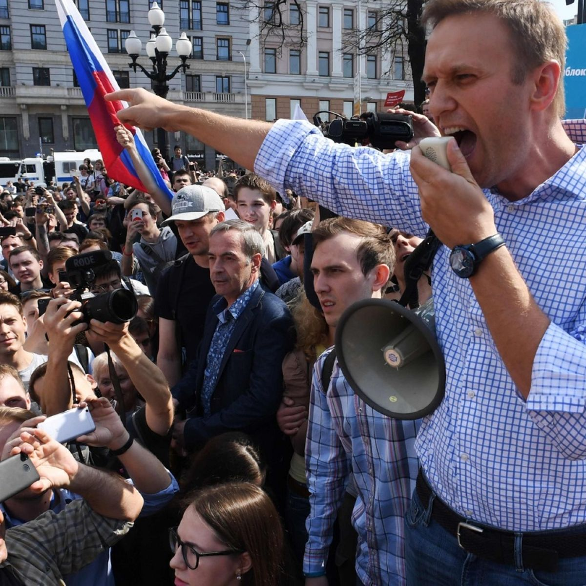 Navalny announced protest actions against raising the retirement age on July 1 88