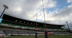 The Toyota Stadium in Bloemfontein ahead of the Cheetahs' Pro14 clash with Munster. Photograph: Inpho