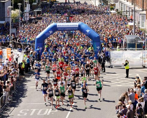 The 9th Annual Bon Secours Hospital Great Limerick Run Pic: Don Moloney