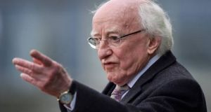 "President Michael D Higgins: ""Michael D is regarded as unbeatable if he goes again,'' said one long-time Leinster House observer.  Photograph: Getty Images"