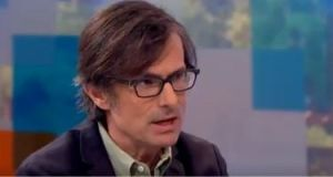 Robert  Peston on 'Peston on Sunday'. Photograph: ITV