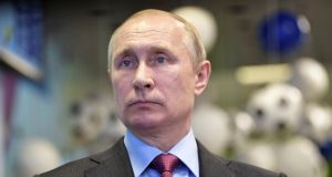 Russian President Vladimir Putin has been sworn in for another six years . Photograph: Aleksey   Nikolskyi/Kremlin/Reuters