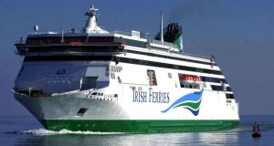 Ferry operator Irish Continental Group's fuel costs rose 25.2 per cent to €40.3 million in 2017. Photograph: Eric Luke