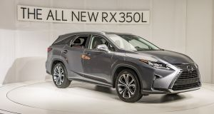 The Lexus RX 450hL SUV is 110mm longer than the standard RX, and the rear of the car has been redesigned  to give those third-row passengers more space