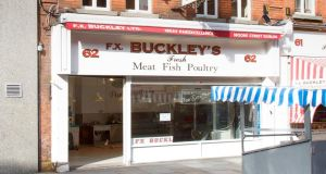 FX Buckley's, 62 Moore Street, Dublin. The building  is located only 30m from Henry Street