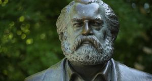 Karl Marx, born 200 years ago this month, was a man of huge gifts who bequeathed to his followers an impressive intellectual legacy spanning economics, philosophy, history and politics. Photograph:  Sean Gallup/Getty Images