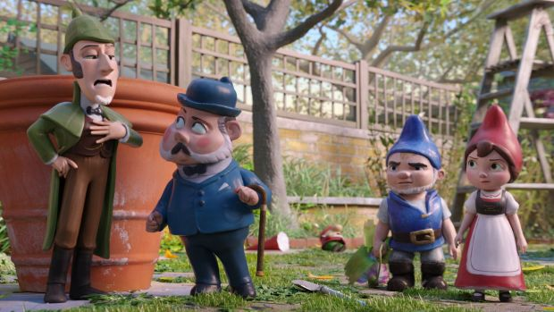Sherlock Gnomes: Fun film, pity about Johnny Depp