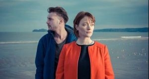 Daniel Monaghan and Marie Ruane in The Good Father