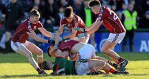 The Galway V Mayo match at the weekend is unlikely to be the earth-shattering event everyone is making it out to be. Photograph: Donall Farmer/Inpho