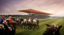 Artists' impression of the Curragh Racecourse development plan. File image: Handout/Curragh Racecourse